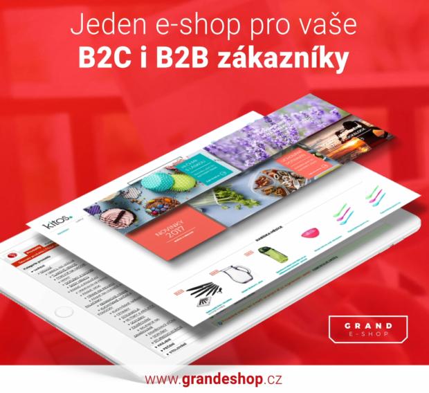 Propojený a personalizovaný e-shop pro B2C i B2B zákazníky
