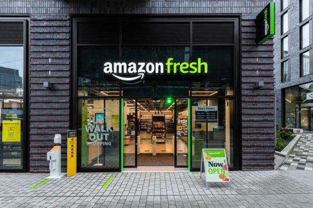 První dvě prodejny Amazon Fresh mimo USA jsou v Londýně