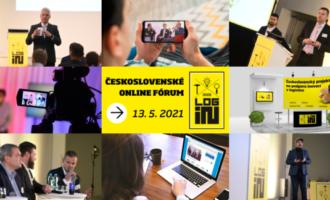 13. 5. 2021, Fórum LOG-IN, on-line