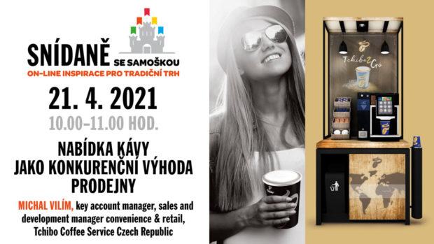 21. 4. 2021, Snídaně se Samoškou, on-line
