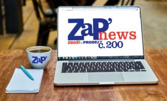 Ano, je to tady: ZaPnews číslo 200!