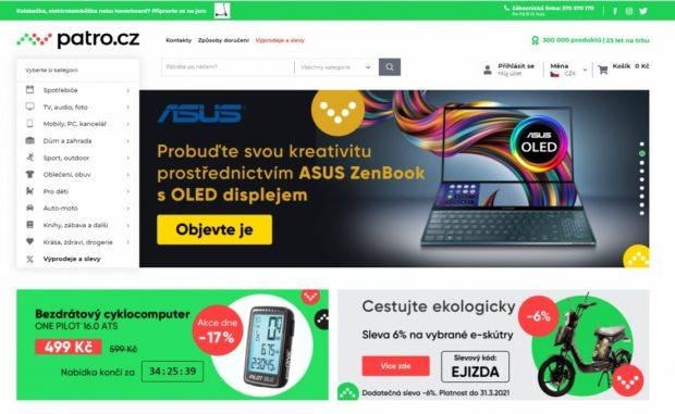 On-line nákupní galerie Patro.cz zvýšila loni obrat o 65 procent