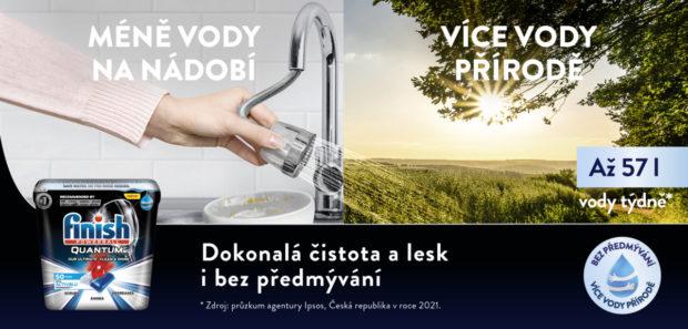 ČSOP a Finish oznamují spolupráci na projektu Voda pro českou krajinu