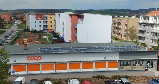 Prodejny Coop vyrábějí stále více zelené energie