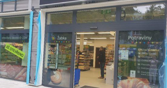 Žabka otevřela novou prodejnu v centru Prahy a také v Brandýse nad Labem