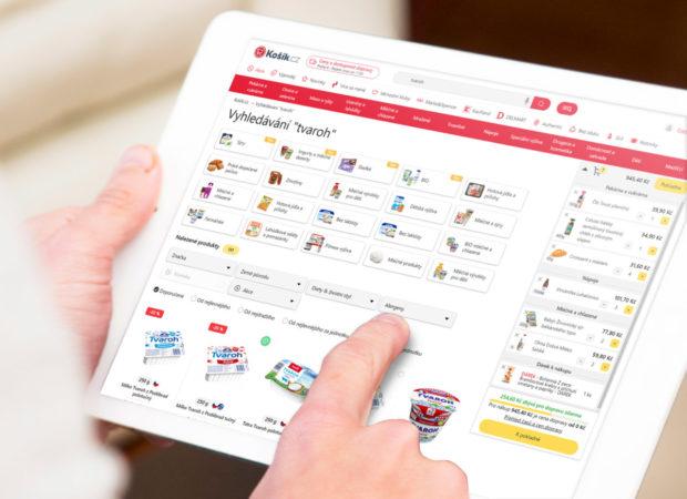 Košík.cz zrychluje a zpřehledňuje on-line nákup