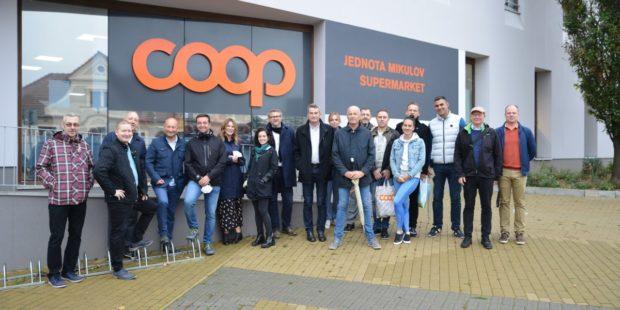 Skupina Coop v ČR hostila setkání spotřebitelských družstev z Evropy
