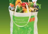 Globus přestane prodávat velké papírové tašky, nahradí je plastovými z recyklátu